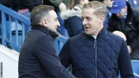 Former Sheffield Wednesday manager Carlos Carvalhal and ex-Middlesbrough boss Garry Monk