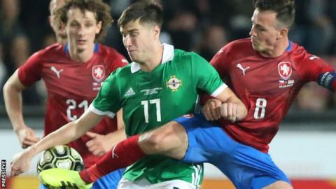 Northern Ireland: Manager Michael O'Neill happy with response in friendly win
