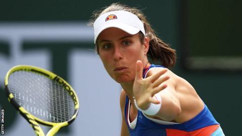 Johanna Konta at Wimbledon