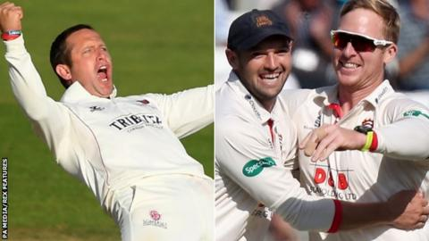 Somerset and Essex bid to win County Championship title