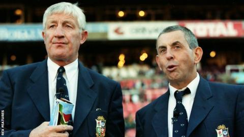Jim Telfer and Ian McGeechan
