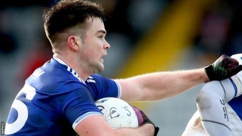 Thomas Galligan scored Cavan's second goal in Enniskillen