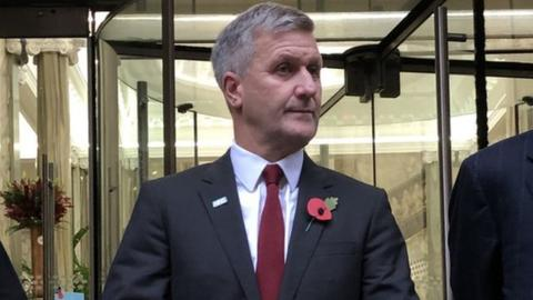 Former British Cycling and Team Sky doctor Richard Freeman outside the Medical Practitioners Tribunal Service in Manchester