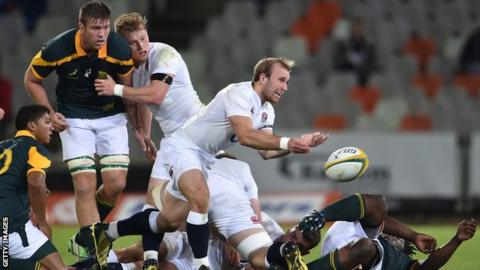 South Africa A v England Saxons