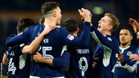 Millwall celebrate