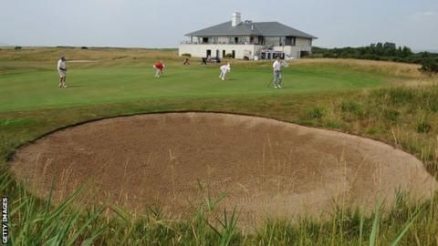 Machynys Peninsula Golf course