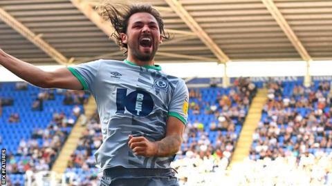 Bradley Dack in action for Blackburn Rovers