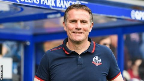 Bolton boss Phil Parkinson
