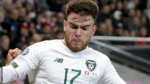 Aaron Connolly: 'Crazy couple of weeks' for Republic of Ireland debutant