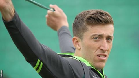 Ireland bowler Peter Chase was the difference between the teams at Bready