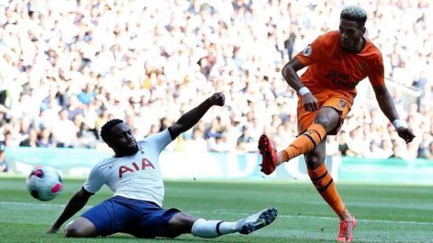 Newcastle striker Joelinton