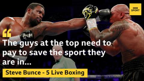 Steve Bunce believes money should be given from fight purses to fund Vada