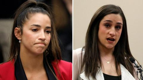 Aly Raisman and Jordyn Wieber