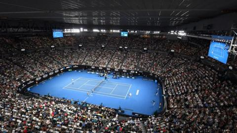 Australian Open Difficult Conditions Under Closed Roof Says Marin