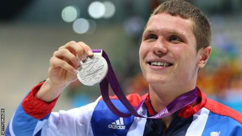 Aaron Moores was a silver medallist at London 2012
