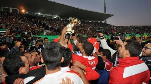 Confederation Cup holders Etoile du Sahel