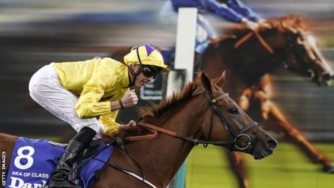 Sea Of Class brilliant winner of Yorkshire Oaks