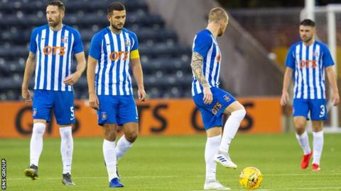 Kilmarnock suffered a surprise European defeat to Connah's Quay Nomads