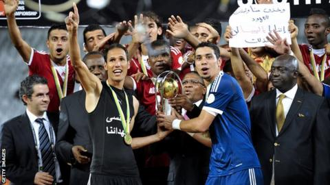 Libya win 2014 CHAN