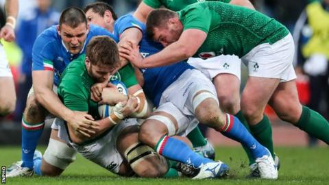 Ireland's men were scheduled to play Italy at the Aviva Stadium on 7 March