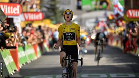 Geraint Thomas' Tour de France win the 'most popular' in