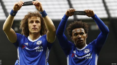 David Luiz and Willian