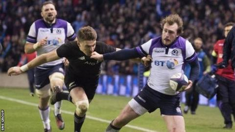 Scotland to face New Zealand, Argentina & Japan at Murrayfield in November 2020