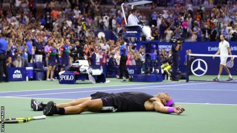 US Open 2019: Rafael Nadal gets emotional after 19th Grand Slam win