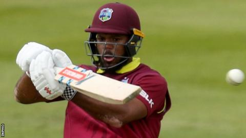 John Campbell hit 179 for the West Indies