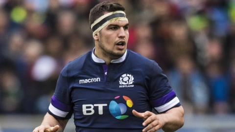 Scotland captain Stuart McInally