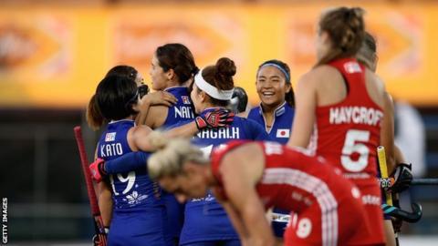 Mami Karino scores the winner against England