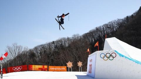 Katie Summerhayes in action in Pyeongchang