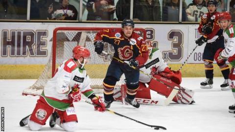 Guildford Flames v Cardiff Devils