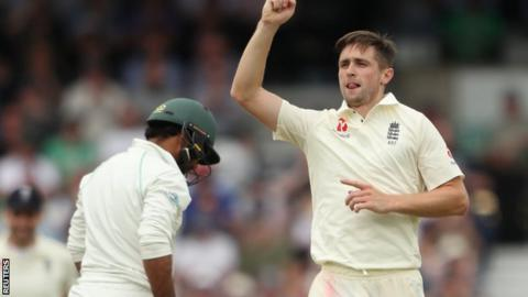 England all-rounder Chris Woakes making good progress on injured knee and quad