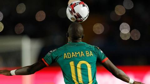 Mauritania's Adama Ba