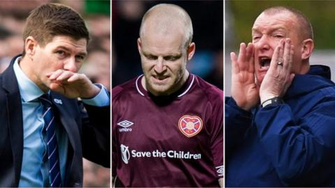 Steven Gerrard, Steven Naismith, Brian Rice