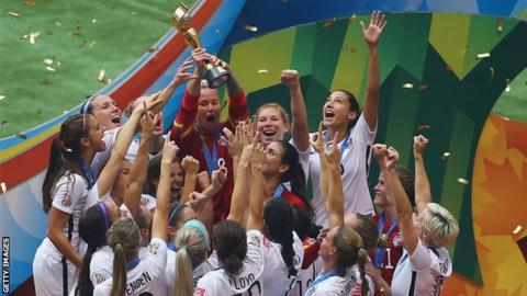 The United States won the last World Cup held in Canada in 2015