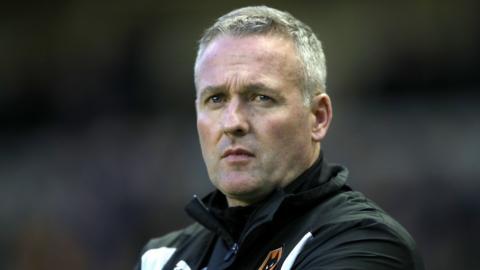 Stoke manager Paul Lambert