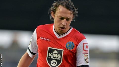 Macclesfield's Kristian Dennis
