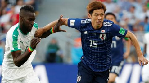 Japan v Senegal