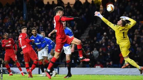 Leon Bailey's stunning third goal ended any hopes of a Rangers comeback