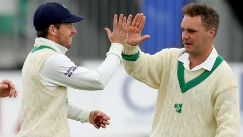 Andy McBrine is one of two changes to the Ireland squad for the India series