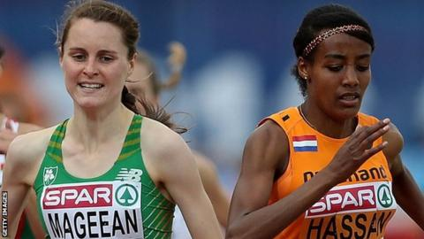 Ciara Mageean was out of action for nearly two years because of a foot injury which required surgery