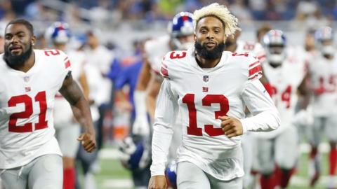 411b2abb4 Odell Beckham Jr  NFL star signs new  95m deal at New York Giants ...