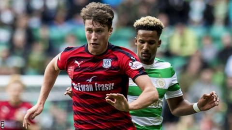 Dundee boss confirms Celtic bid for Jack Hendry