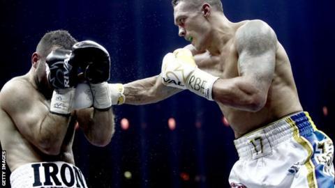 Cruiserweight champion Oleksandr Usyk