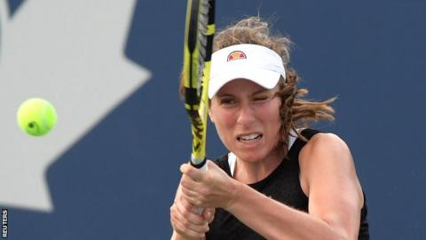 Johanna Konta at the Rogers Cup
