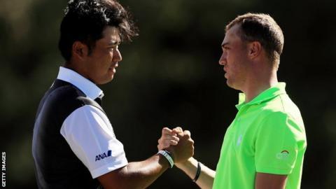 Hideki Matsuyama & Justin Thomas