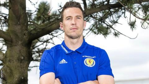 Goalkeeper Jon McLaughlin is part of the Scotland squad going to Peru and Mexico