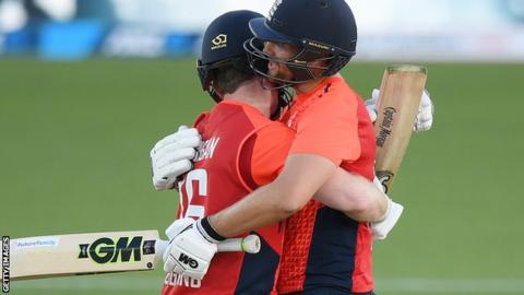 England beat New Zealand in 5th T20I in Super Over